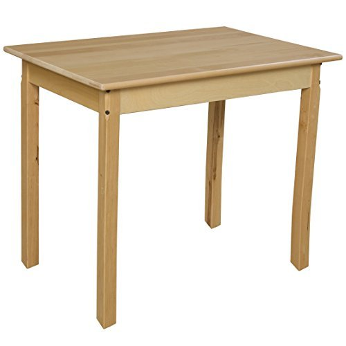 Wood Designs WD82329 Rectangle Hardwood Table with 29