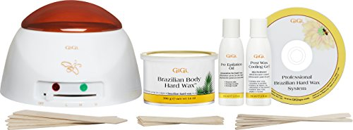 Gigi Brazilian Waxing Kit, 14 Ounce (Kit Waxing Brazilian Easy)