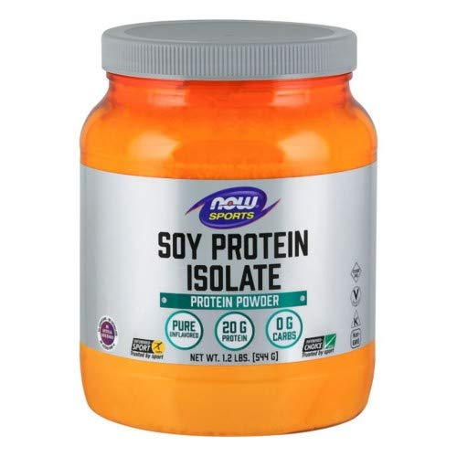 Now Foods Soy Protein Isolate - 1.2 lbs. - Non-GE 6 Pack