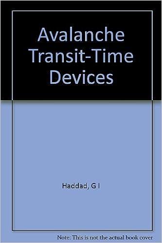 Téléchargements gratuits de livres audio pour ipod Avalanche Transit-Time Devices PDF PDB CHM B001SJLQHI