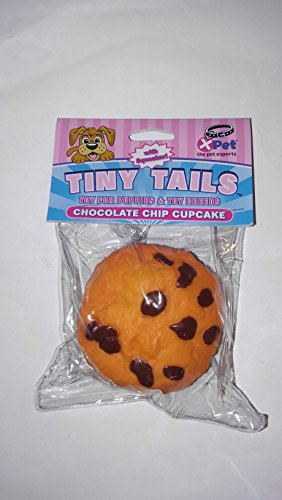 Vo-Toys Tiny Tails Chocolate Chip Cupcake Vinyl Dog Toy