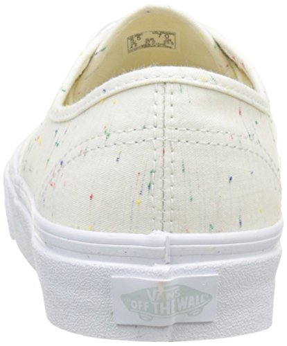 Vans Ua Authentic, Zapatillas para Mujer Hueso (Speckle Jersey Cream/true White)
