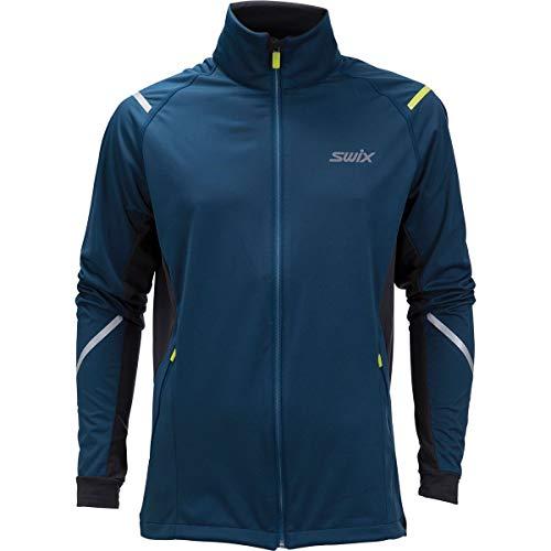 Swix Cross XC Ski Jacket Mens Sz M Majolica Blue