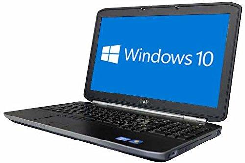 中古 DELL ノートパソコン LATITUDE E5530 Windows10 64bit搭載 HDMI端子搭載 テンキー付 Core i3-3110M搭載 メモリー4GB搭載 HDD640GB搭載 W-LAN搭載 DVDマルチ搭載 B07H54HFF2