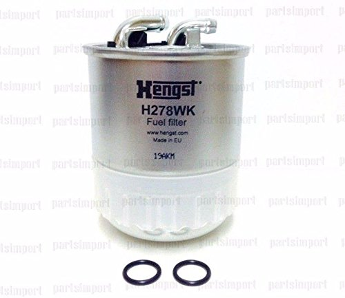 Mercedes, Dodge Sprinter OE Quality Diesel Fuel Filter HENGST FILTER