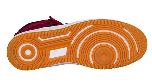 Nike Af1 Ultra Force Chaussure Mi-imprimée Profonde Grenat / Grenat Profond