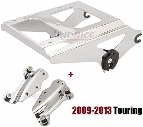 For Harley 2009-2013 Detachable 4 Point docking Kit Two Up Tour Pak Luggage Rack