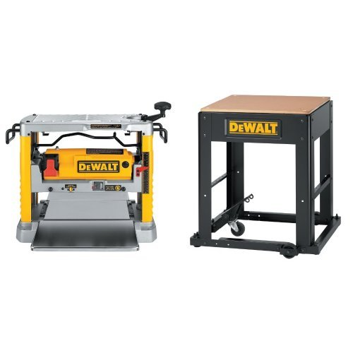 DEWALT DW734 15 Amp 12-1/2-Inch Benchtop Planer with Planer Stand with Integrated Mobile Base by DEWALT