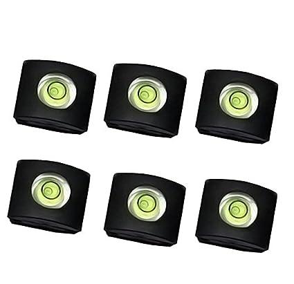 CamDesign 10 Packs Camera Flashlight Hot Shoe Cover with Bubble Spirit Level Compatible with Canon//Nikon//Panasonic//Fujifilm//Olympus//Pentax//Sigma DSLR//SLR//EVIL Camera