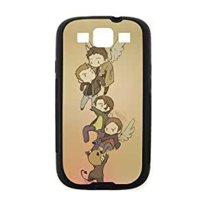 Cute Funny Cartoon Supernatural Character Cover Case for Samsung Galaxy S3 (Laser Technology)