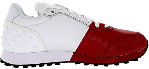 Onitsuka Tiger Colorado Vijfentachtig Klassieke Sneaker Wit / Rood