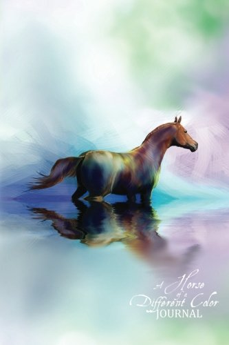 Horse Different Color Journal Notebook product image