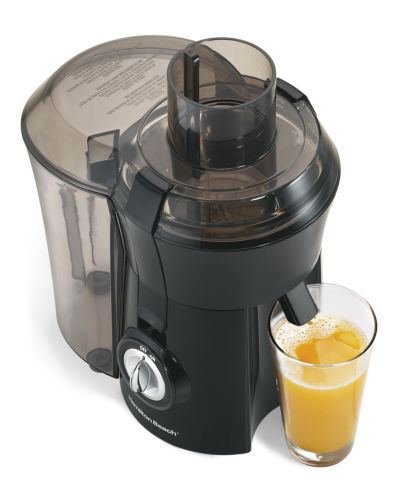 NEW! Hamilton Beach 67601A Powerful 800-watt Big Mouth Juice Extractor, Black