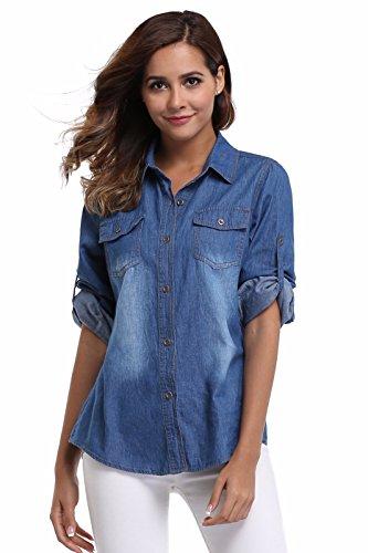 Button Up Cotton Jeans - 6