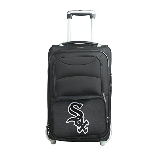 picture of MLB Chicago White Sox In-Line Skate Wheel Carry-On Luggage, 21-Inch, Black