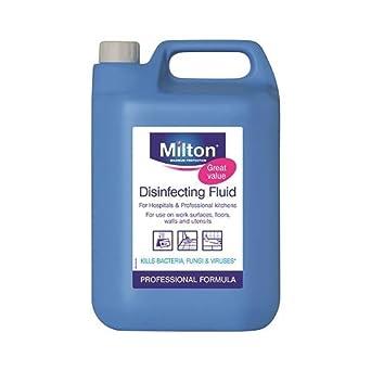 Milton desinfectando fluido, 5l: Amazon.es: Industria ...