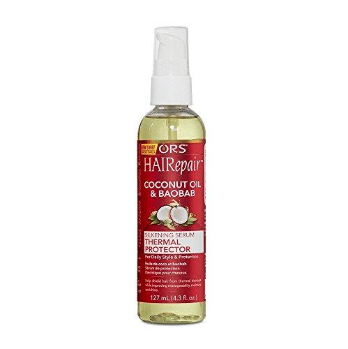 ORS HAIRepair Coconut Oil & Baobab Silkening Serum Thermal Protector