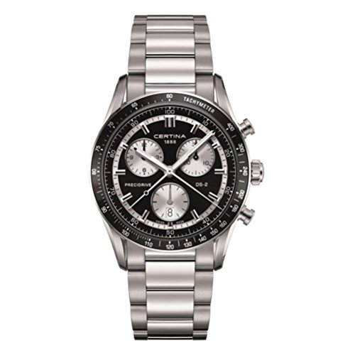 Certina - Wristwatch,Quartz Chronograph, Stainless Steel, Man 1