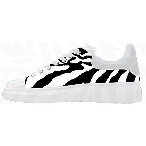 Custom zebra di stampa Womens Canvas shoes Le scarpe le scarpe le scarpe. Tienda De Descuento Para Envío Libre De Verdad Dónde Puedes Encontrar SkNYHwvwuF