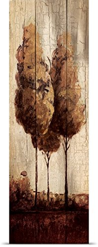 Pied Piper Poster Print entitled Simple wood I