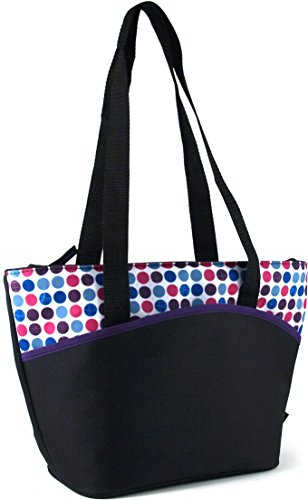 (Thermos Raya Disco Dots Insulated 9 Can Lunch Tote)