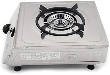 nj-100 Camping estufa de gas quemador de única portátil acero ...
