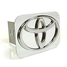 Toyota Chrome Logo Hitch Cover Plug