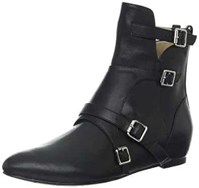 Elizabeth and James Women's E-Cosmo Ankle Boot,Black,10 M US