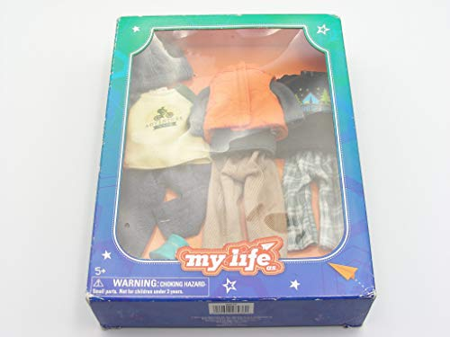 My Life As Mini Outdoorsy Boy Outfits - Set of 3 Outfits fit 7 Inch My Life as Dolls