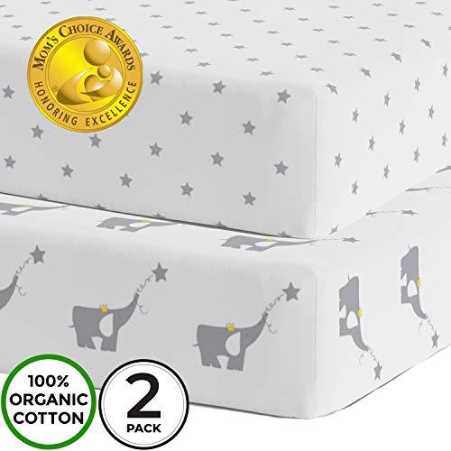 Crib Sheets - Super Soft Organic...