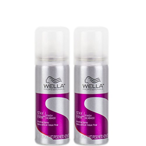Wella Stay Firm Finishing Spray 1.51 oz Travel Size ( Pack of 2)