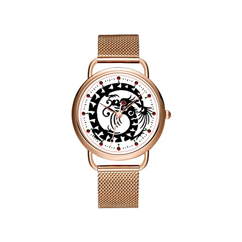 Women Watches Brand Luxury Ladies Mesh Belt Ultra-Thin Watch Waterproof Clock Quartz Watch Christmas Black Smooth Coat Dachshund Wrist Watches