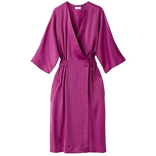 Redoute Violett La Collections Frau Elastische Wickelkleid Taille avRnW