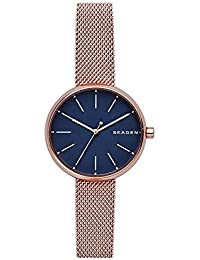 Women's SKW2593 Rose Gold Mesh Watch