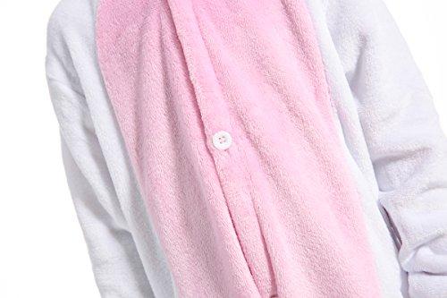 Kigurumi Cosplay Pigiama Regalo Pigiameria Animato Cartone Rosa Costumi Bianco Compleanno Kauson Festa Costume Halloween Onesietute Carnival Animal Di Natale Unicorno qXg5nEw