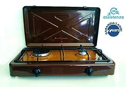 Hornillo de gas para camping MULTIGAS Larel marrón GPL ...