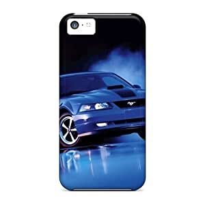 LJF phone case LatonyaSBlack Case Cover Protector Specially Made For ipod touch 5 Cool Ford
