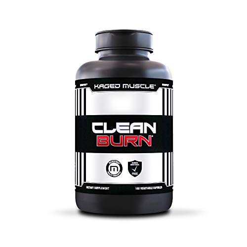 Non-Stimulant Metabolism Booster & Weight Loss Pills for Men & Women, Kaged Muscle Clean Burn Weight Loss Supplement…