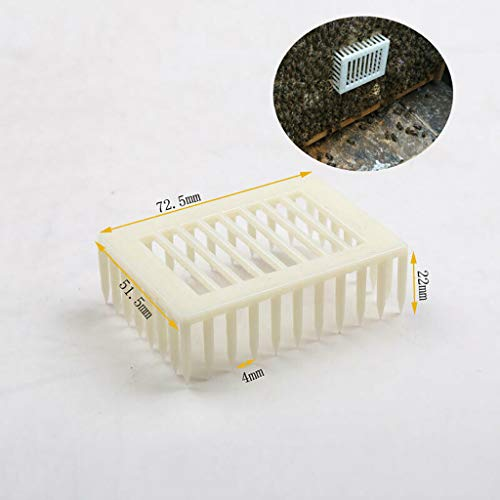 Tpingfe 20 Pc Bee Cage Protective Cover Cages Beekeeping Equipment Plastic Prisoner