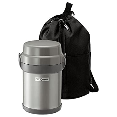 Zojirushi SL-JAE14SA Mr. Bento Stainless Steel Lunch Jar, Silver
