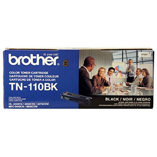 Brother TN-110K Toner Cartridge - Black - 1 Pack in Retail ()