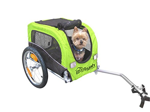 Booyah Small Dog Pet Bike Bicycle Trailer Pet Trailer Green by Booyah Strollers