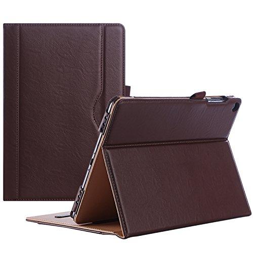 ProCase ASUS ZenPad 3S 10 9.7 Inch Case Z500M Z500KL - Stand Cover Folio Case for ASUS ZenPad 3S 10 Tablet -Brown
