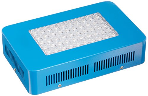 Sandalwood 150W Dual Mode LED Grow Light for Hydroponic Garden and Greenhouse Use - Dual Grow/Bloom Spectrum