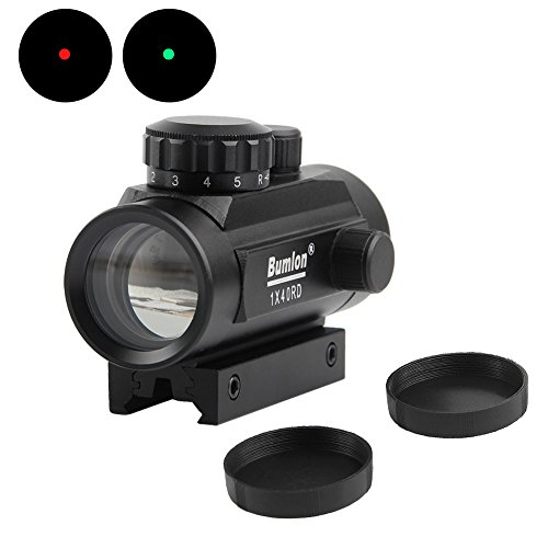 Red Green Dot Sight Scope Reflex Holographic Rifle Optics Tactical Fits 11mm/ 20mm Rail for Airsoft