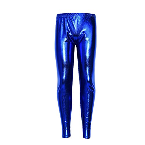 a2z4kids Kids Girls Leggings Metalic Shinny Disco Fashion Dance Leggings Age 4-13 Years