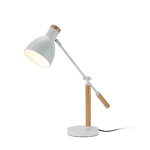 Lámpara Mesa Escritorio Luz de la lámpara de la mesita de noche ...