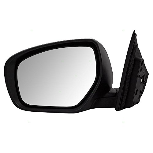 Drivers Power Side View Mirror Heated Flat Glass Replacement for Mazda CX-9 SUV TE70-69-18ZG (Mazda Cx 9 Driver Side Mirror Replacement)