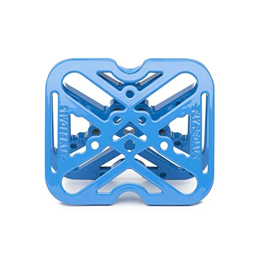 Fly Pedals 2 Universal Platform Adapter for Clipless Pedals Blue Road Mountain by Fly Pedals