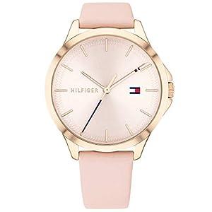 Tommy Hilfiger Reloj Analógico para Mujer de Cuarzo con Correa en Cuero 1782090 7